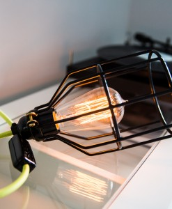 Caged Side Lamps