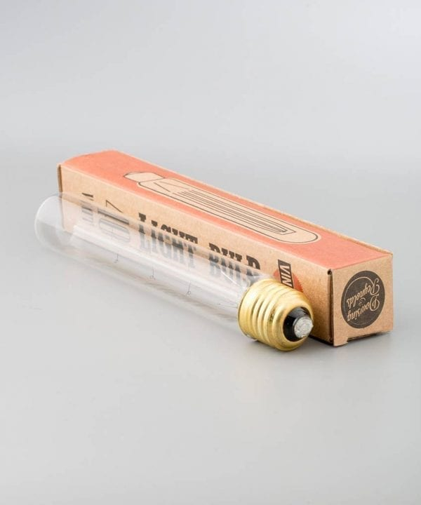 long filament tube vintage light bulb