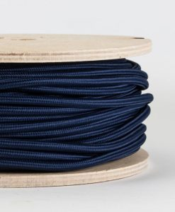 fabric lighting cable navy blue