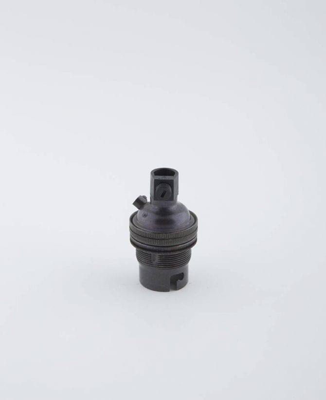 farrier bronze b22 light bulb holder