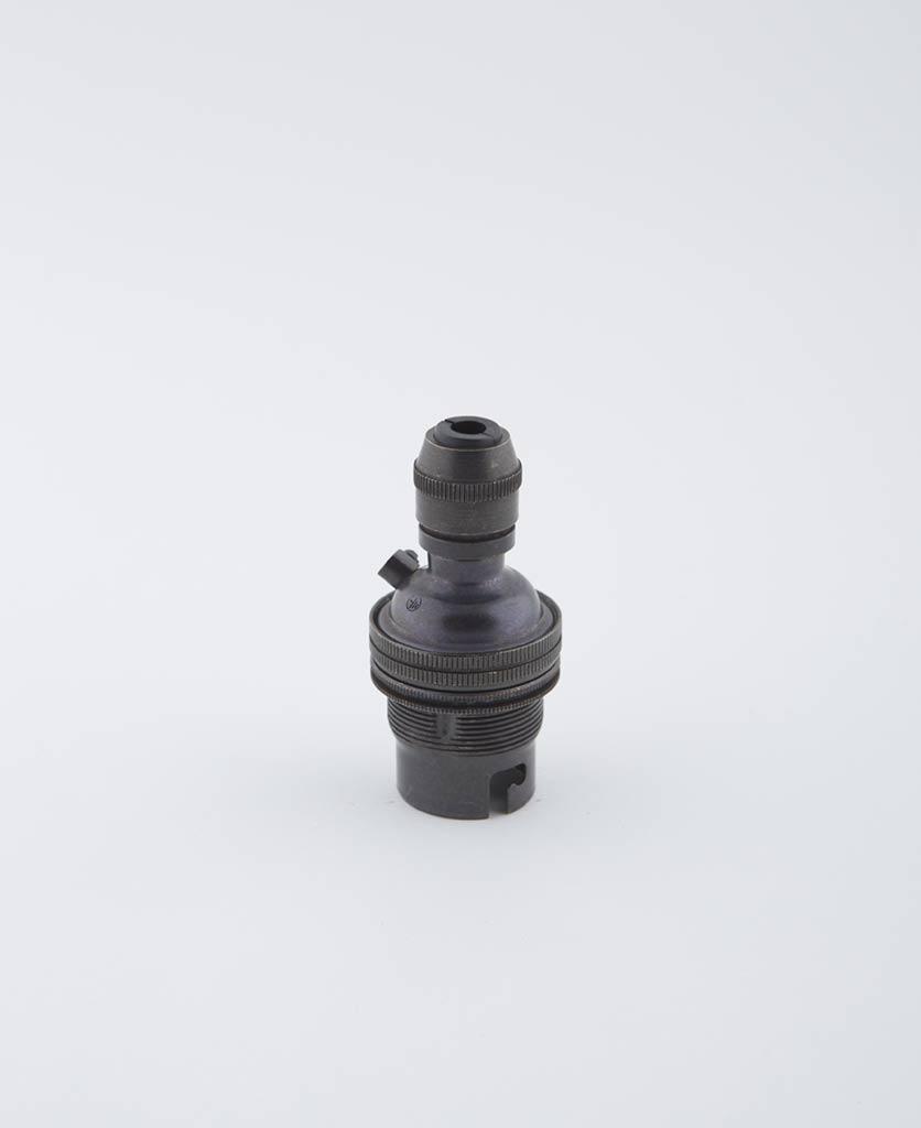 farrier bronze b22 light bulb holder posh