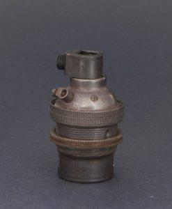 B22 antique bronze lamp socket