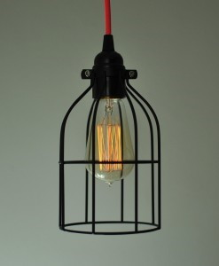 Caged Ceiling Lights