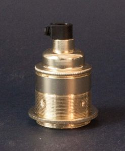 E27 brass threaded lamp socket