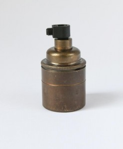 E27 brass bulb holder