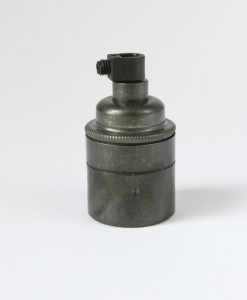 E27 Bronze lamp holder