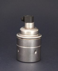 E27 antique silver bulb holder