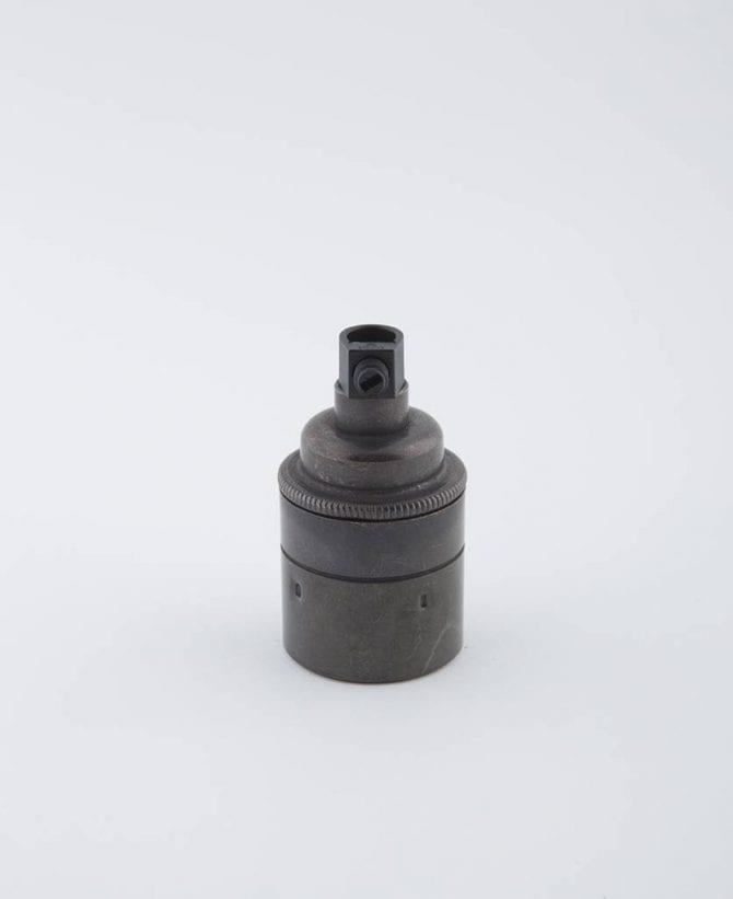 farrier bronze E27 light bulb holder