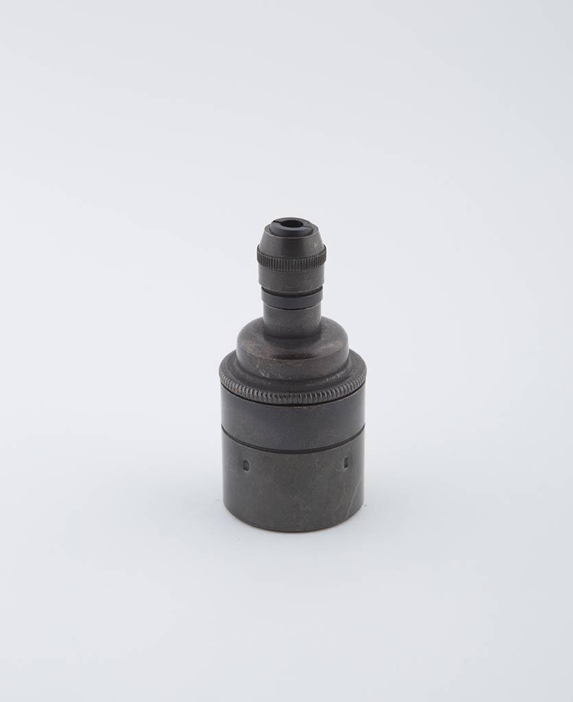 farrier bronze E27 light bulb holder posh
