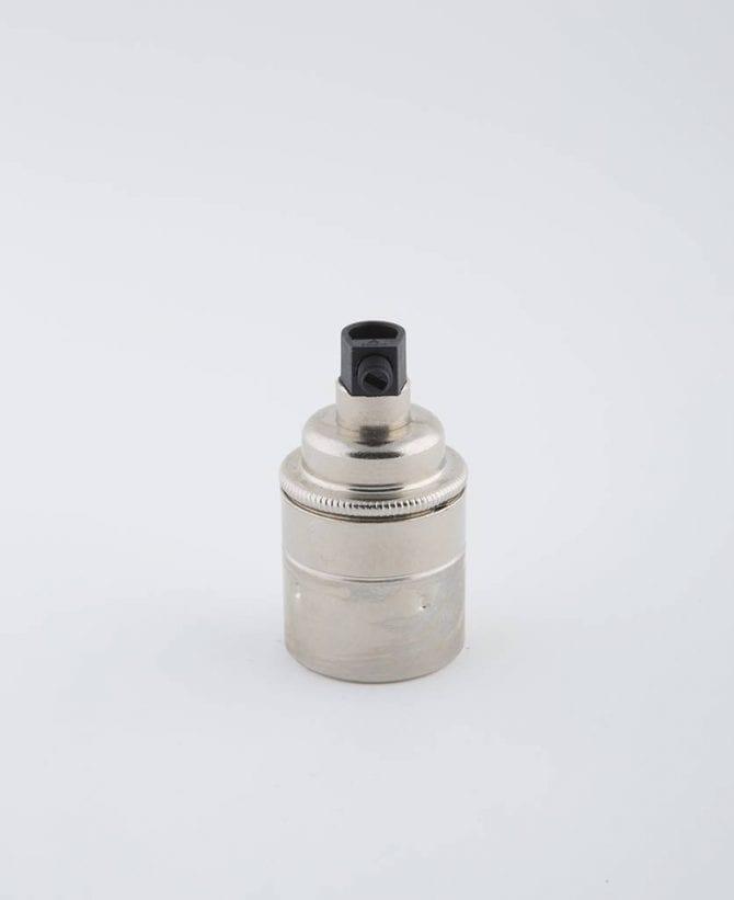 forgotten silver e27 light bulb holder