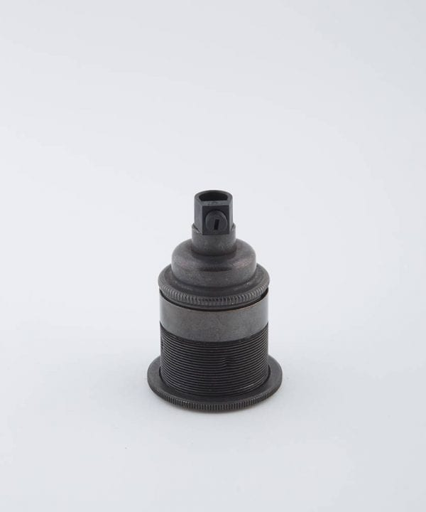 farrier bronze e27 threaded light bulb holder