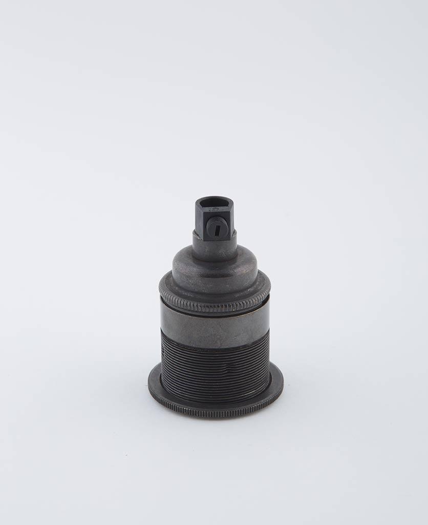 farrier bronze e27 threaded light bulb holder