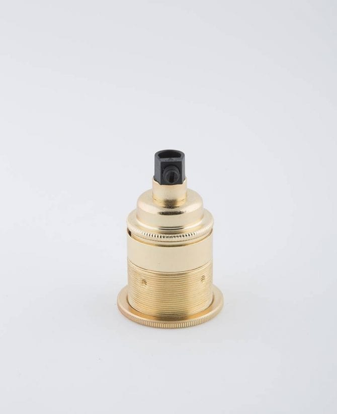 fool's gold E27 threaded light bulb holder
