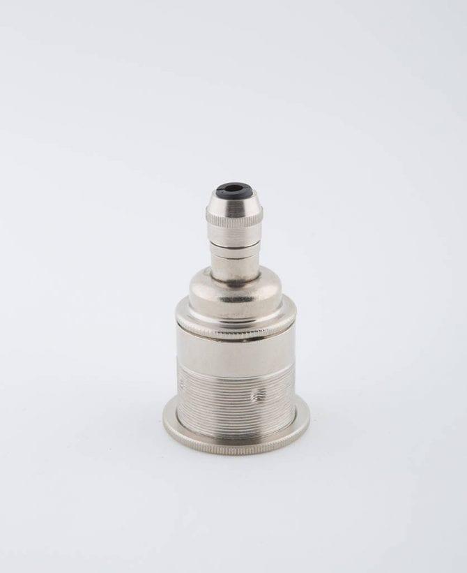 forgotten silver e27 threaded light bulb holder posh