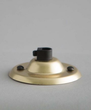 ceiling rose polished brass