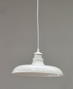 Camaret pendant light in clay