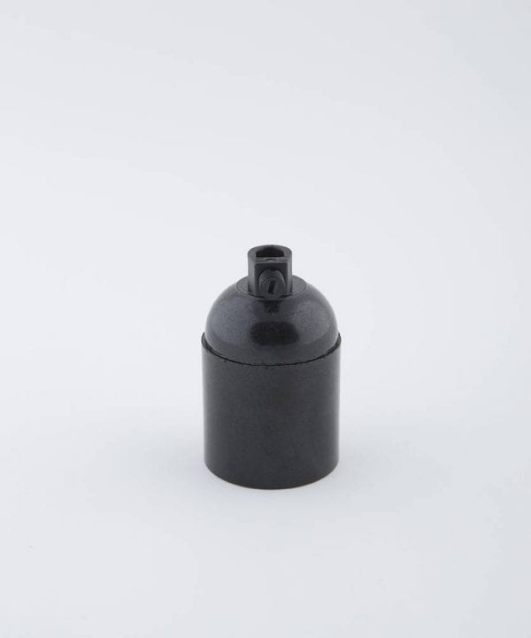 domino black e27 Bakelite bulb holder