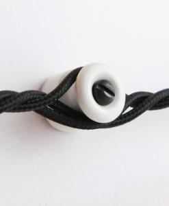 Cable Management Guides Porcelain White