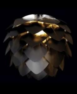 silvia black and gold light shade