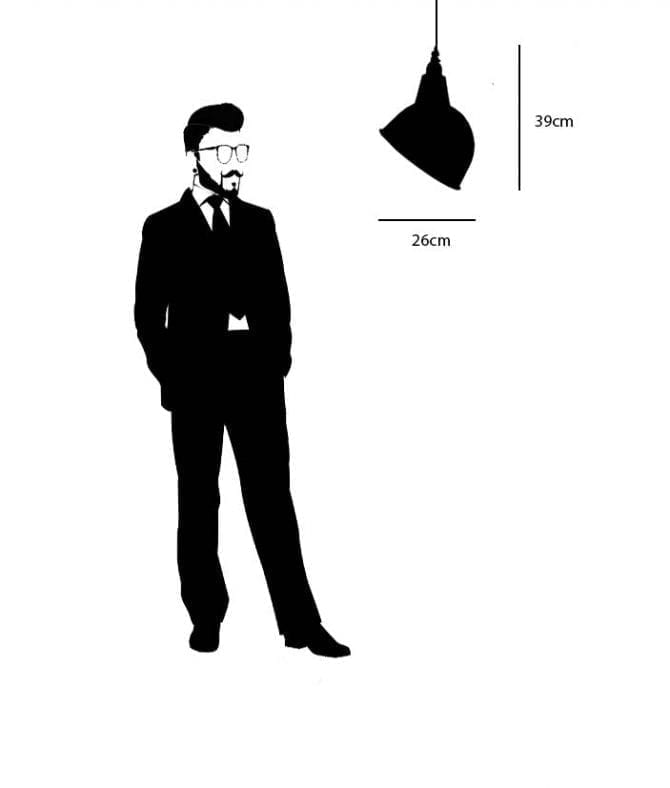 oulton enamel shade dimensions