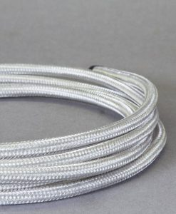 Sheffield steel silver pendant lighting cord