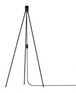 Vita Black Tripod Floor Light Stand