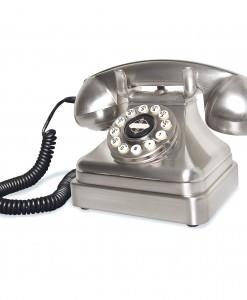 bakelite telephone silver