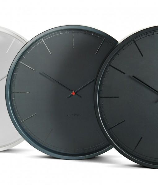Contemporary White Wall Clock for Minimalist Monotone Chic – Minimalist Wall Clock