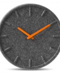 contemporary wall clock grey (6)