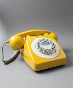YELLOW ICON 60 TELEPHONE | Retro House Phone