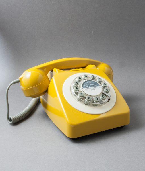 YELLOW ICON 60 TELEPHONE | Retro House Phone