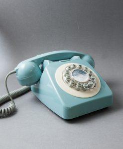 PASTEL BLUE ICON 60 TELEPHONE | Retro House Phone