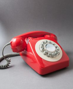 RED ICON 60 TELEPHONE | Retro House Phone