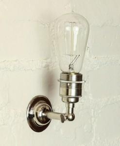 Silver Manston Wall Light