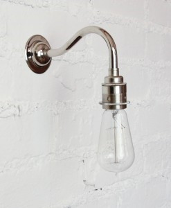 Vintage light bulb wall light-3