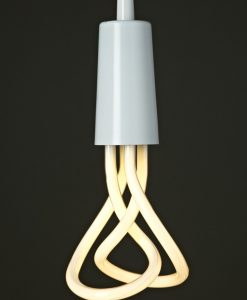 Plumen White Pendant with Plumen 001 Bulb