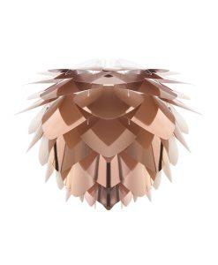 Vita Copper Pendant Light Silvia Small Shade