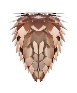 Vita Copper Pendant Light Conia Medium Shade