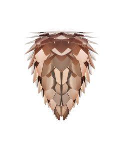 Vita Copper Pendant Light Conia Small Shade