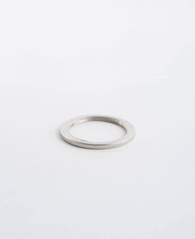 silver lamp ring