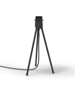 Vita Black Tripod Side Light Stand