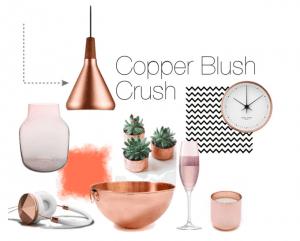 Copper Blush Home Interiors Trend