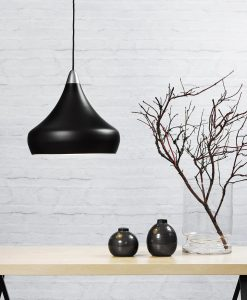Danish Lighting Black Pendant Light - Jonas
