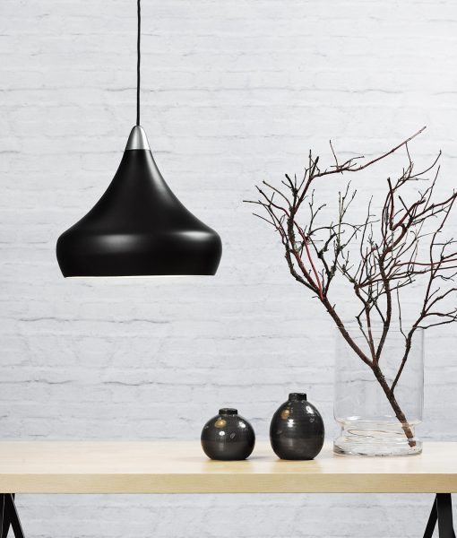 Danish Lighting Black Pendant Light – Jonas