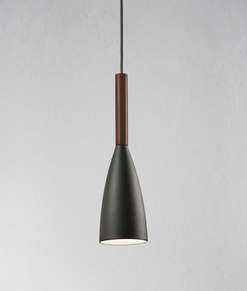 Danish Lighting – Espen Grey Pendant Light