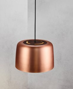 Danish Lighting Copper Pendant Light - Helga