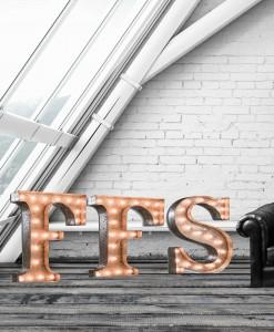Illuminated letters FFS
