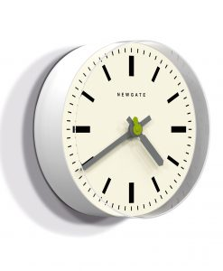 TIME PILL WALL CLOCK White & Grey Modern Clock