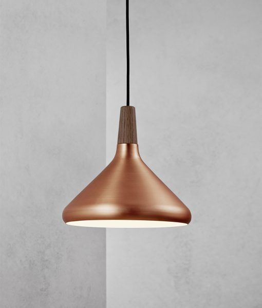 Danish Lighting – Fredrik 27 Copper Pendant Light