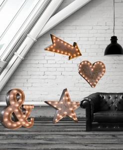 Illuminated Letters Symbols: & # ♥ ★ ➤